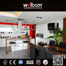 White Simple Design Customized Kitchen Cupboard for Kitchen Decoration