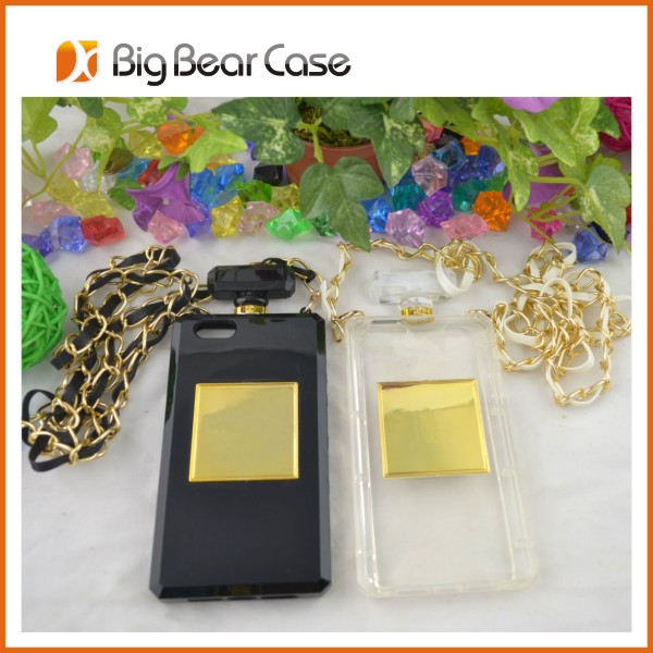 Hot selling silicon perfume bottle case for apple iphone 5s