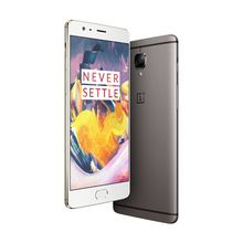 Original Oneplus 3T Black Gold 7g mobile phone 128GB 64GB ROM 6GB RAM cell phone GOLD