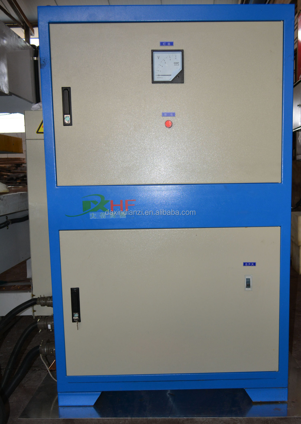 High frequency auto feeding board joint machine