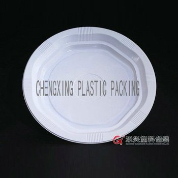 ChengXing brand disposable plastic fast food plates