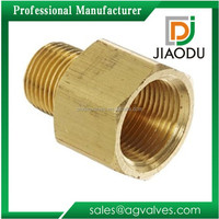 china manufacturer best sale forged cw617n brass npt male x npt female threaded 35mm copper pipe fitting adapter