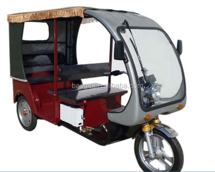 Cargo adult big wheel electric tricycle for sale