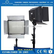 Full function camera DV camcorders 2000 LED video light with 2000pcs leds