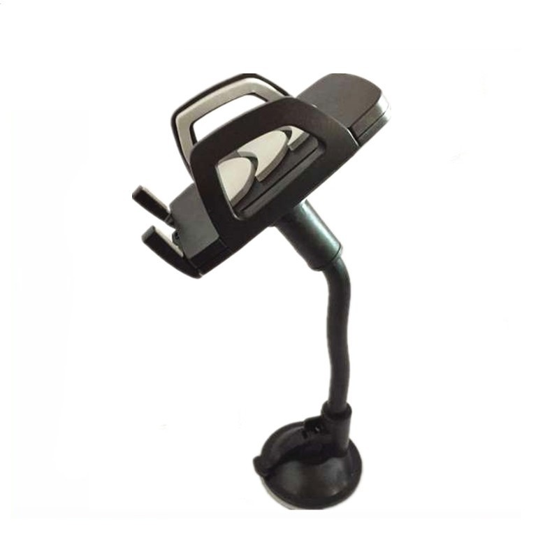 universal windscreen suction cup car gooseneck cell phone holder for samsuang smartphone