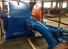 Small Water Turgo Turbine / Jet Turbine for Small Hydro Power Plant