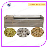 Stainless Steel 2000kg/h Industrial Continuous Potato Washing Machine/ Potato Cleaning Machine