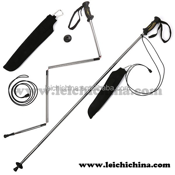 In stock Aluminum fly fishing wading staff