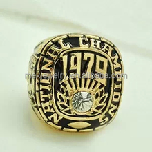 Stainless steel for fans' collection 1979 Alabama Chau championship rings