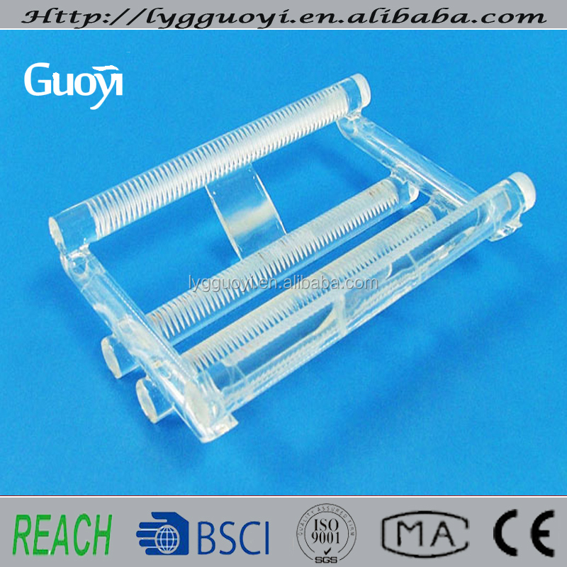 high quality high purity quartz wafer cassette for solar industry
