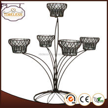 Fully stocked factory supply heat resistant glass candle holder