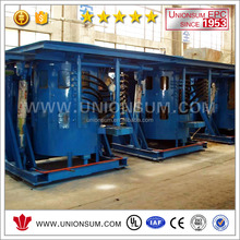 High Power Density Medium Frequency Induction Furnace for Lead Smelting