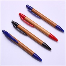 Natural gift recycled promotional wood bamboos ball pen