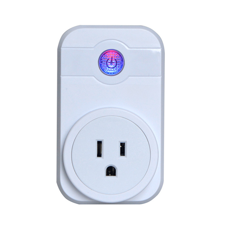 Remote control by smartphone timer switch wifi socket smart plug