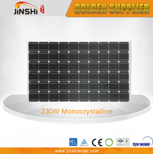 Factory price custom design pv solar module 230wp