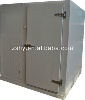 Simple installation small walk in cooler for restaurant