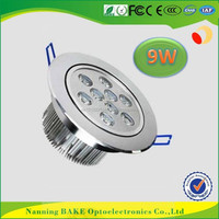 Led Ceiling light 9w fixture with remote control