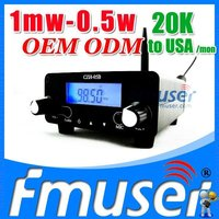 Fmuser FSN01 fm transmitter 1mw FCC wireless fm transmitter and receiver Lanyue