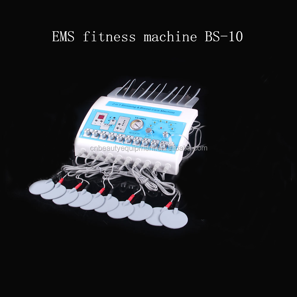 professional Russian Wave ems electronic muscle stimulator machine BS-10