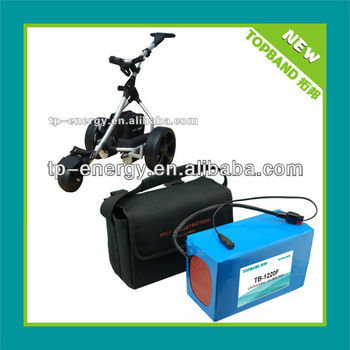 UL 12V lithium battery for golf trolley