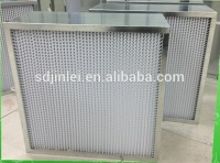 electrical panel fan h14 hepa glass fiber filter paper