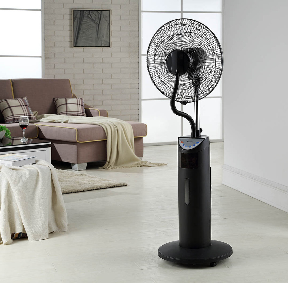 Wholesale High Quality Air Cooling Summer And Winter: Foshan Mist Fan Water Spray Cheap Stand Fan