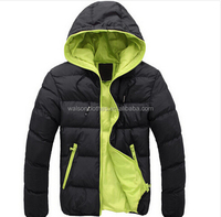 High Quality Wholesale Man Jackets 2015 Warm Down Jackets Overcoat Male Casual cotton-padded Fur Coat Hot Outdoor