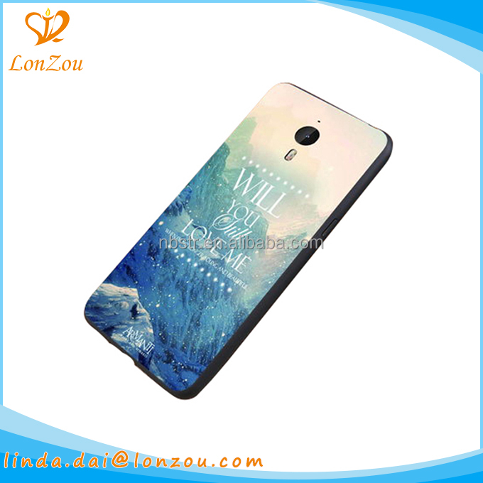 Case phone cover case printing pc simple design smart transparent mobile cell phone cover
