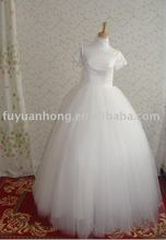 2010 satin wedding dress /RD1109