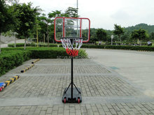 wholesale Adjustable portable basketball stand hoop & netball set