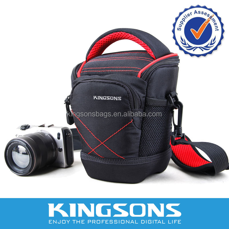2014 New Product Waterproof Vintage DSLR Leather Camera Bag for Samsung NX300