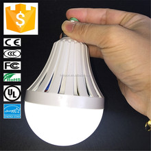 5 Hours Lighting When Power outage E27 LED Bulb 9Watt Rechargeable Emergency LED Bulb