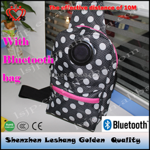 backpack lots pockets With music bag of With Bluetooth bag
