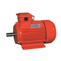 3 phase electric motor with flange