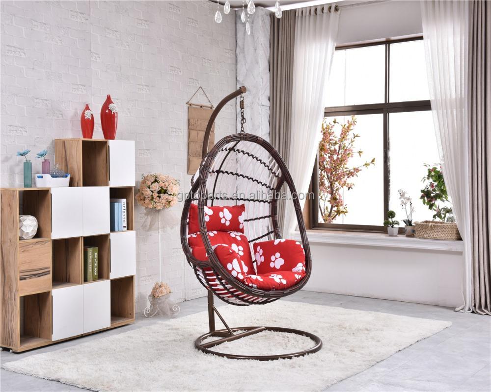 einen sitz moderne outdoor kunststoffgartenstuhl verwendet ei stuhl f r verkauf schwingen im hof. Black Bedroom Furniture Sets. Home Design Ideas