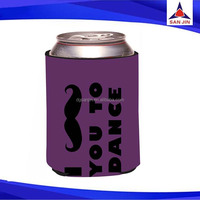 Neoprene ice cream can cooler tube can cooler cozy