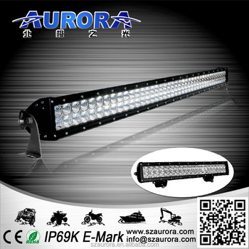 AURORA high quality IP69K 40 inch dual row offroad atv 4x4 offroad led light