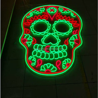 China factory custom made acrylic neon effect led neon light up letter sign