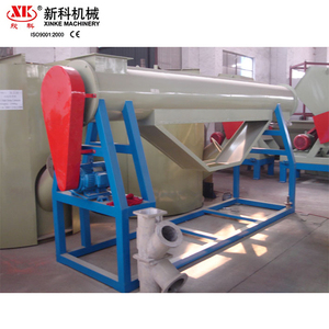 High quality waste plastic recycling strong cleaning washing machine friction washer