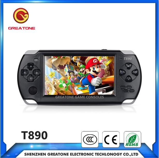 16 bit retro handheld game console tv video games for kids