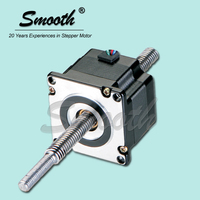 High precision Nema 23 non captive linear actuator stepper motor