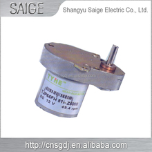 High speed 6v dc small electric motors with gearbox