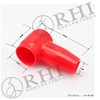 L13-22-62 Hot sale car battery covers pvc insulated protectors plastic terminal caps