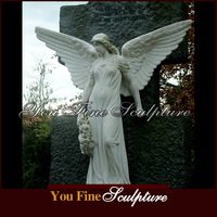 Decorative Life Size Stone Statue Marble Carving Sculpture for sale