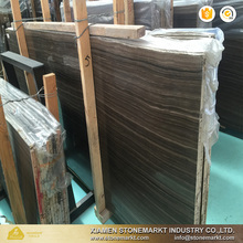 Dark brown Canada Eramosa marble slabs