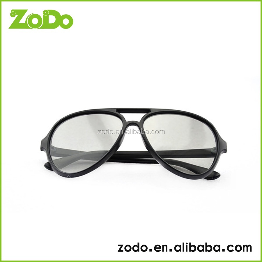 PASSIVE 3D with 42.5% TRANSMITTANCE RATE VIDEOs - CIRCULAR POLARIZED - 3D GLASSES