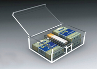 New design clear acrylic cigarette display case wholesale