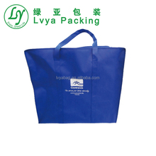 wholesale manufacturer laminated Promotional Cheap Custom Foldable Shopping Recycle PP Non Woven Bag Made In China