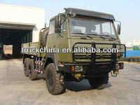 SHACMAN Aolong STEYR 6x6 military truck
