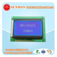 chinese manufacturing 12864 monochrome graphic lcd display